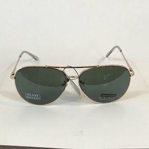 Accessories - Curved Rose Gold, Mirrored Aviator Sunglasses!.